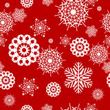 Snowflake seamless Royalty Free Stock Photo