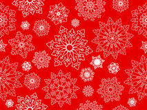 Snowflake seamless background. Royalty Free Stock Image