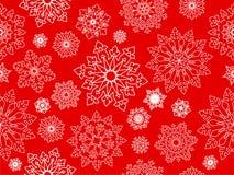 Snowflake seamless background. Royalty Free Stock Image