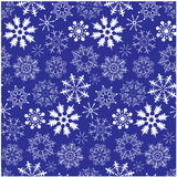 Snowflake seamless background Royalty Free Stock Photos