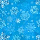 Snowflake Seamless Pattern stock illustration