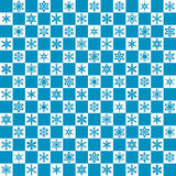 Snowflake seamless pattern Stock Photography