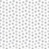 Snowflake seamless pattern Royalty Free Stock Photos