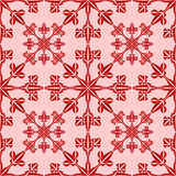 Snowflake seamless pattern Royalty Free Stock Photos