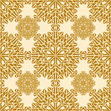 Snowflake seamless pattern Royalty Free Stock Photo
