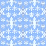 Snowflake seamless pattern Merry Christmas and Happy New Year winter holiday background decorative paper vector. Illustration. Festive textile xmas abstract Royalty Free Stock Photos