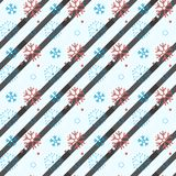 Snowflake seamless pattern. Snow on white background. Abstract wallpaper, wrapping decoration. Symbol winter, Merry Christmas holi royalty free illustration