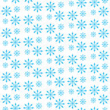Snowflake seamless pattern. Snowflake background. Snow Winter, christmas background, texture. Snowflakes fall background. Vector i Royalty Free Stock Photos