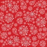 Snowflake seamless pattern. Snowflakes background. Christmas pattern. Vector illustration Stock Photography