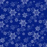 Snowflake seamless pattern. Vintage winter background. Christmas collection. Vector illustration. Eps10 vector illustration