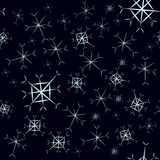 Snowflake seamless vector Stock Photo