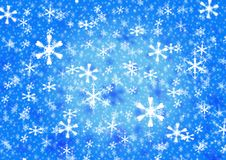 Snowflake set Stock Image