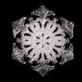 Snowflake shape Royalty Free Stock Photo
