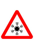 Snowflake sign Royalty Free Stock Image