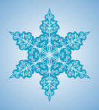 Snowflake six-sided pattern Stock Photo