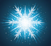 Snowflake. Royalty Free Stock Image