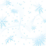 Snowflake square Royalty Free Stock Photography
