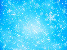 Snowflake and star pattern Royalty Free Stock Photo