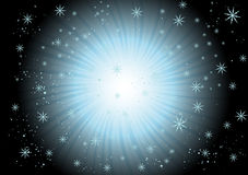 Snowflake Swirl Royalty Free Stock Photo