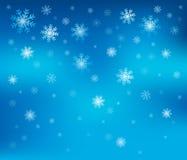 Snowflake theme background 2 Stock Photo