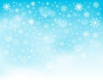 Snowflake theme background 3 Stock Photos