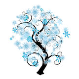 Snowflake tree Stock Photography