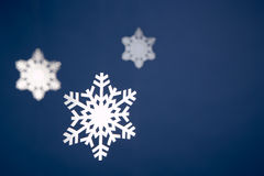 Snowflake Tree Decorations Royalty Free Stock Photos