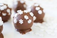 Snowflake Truffles Stock Photo