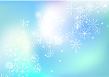 Snowflake vector background Stock Photo