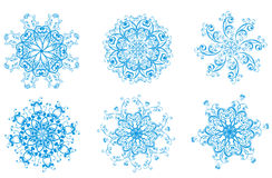Snowflake Vector illustration Royalty Free Stock Photo