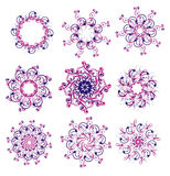 Snowflake. Vector illustration Stock Images