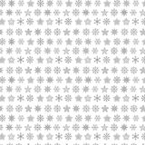 Snowflake vector seamless web pattern Stock Photo