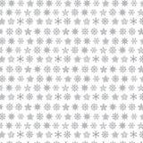 Snowflake vector seamless web pattern Stock Photo