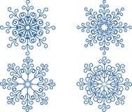 Snowflake Vector Set Stock Image