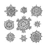 Snowflake Vectors Royalty Free Stock Photos