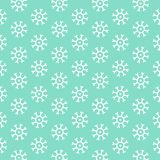 Snowflake wallpaper Royalty Free Stock Image