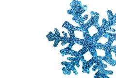 Snowflake on the white Stock Photography