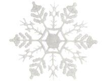 Snowflake on a white background Royalty Free Stock Photos