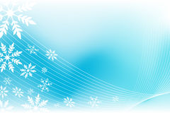 Snowflake wind background Stock Photos