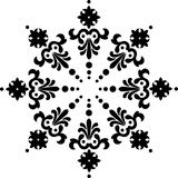 Snowflake winter Royalty Free Stock Photography