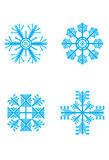 Snowflake-winter Stock Images