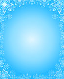 Snowflake winter  background Stock Images