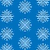 Snowflake winter background royalty free illustration