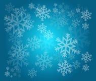 Snowflake winter holiday illustration Stock Photography