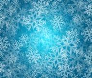Snowflake winter holiday illustration Stock Photo