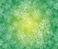 Snowflake winter holiday illustration Royalty Free Stock Photography