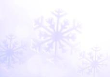 Snowflake. Winter holidays background, soft background. Stock Image
