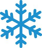 Snowflake winter icon. Season vector vector illustration