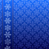 Snowflake winter pattern Royalty Free Stock Image