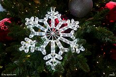 Snowflake -- 'Explored 10 December 2014' Royalty Free Stock Images